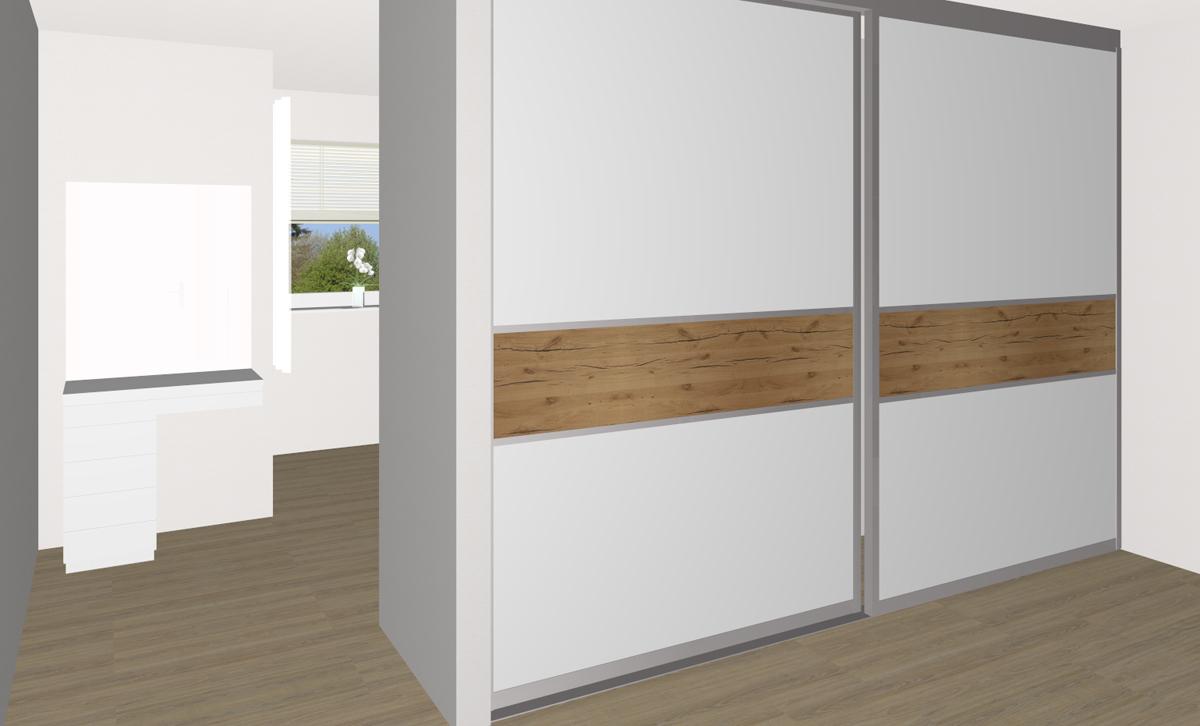 schlafzimmer mit ankleide bereich in perg tischlerei kastner. Black Bedroom Furniture Sets. Home Design Ideas