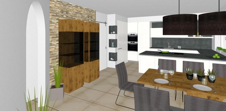 elegante k che in hofkirchen tischlerei kastner. Black Bedroom Furniture Sets. Home Design Ideas