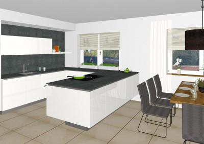 küche mit esszimmer in linz | tischlerei kastner - Küche Mit Esszimmer