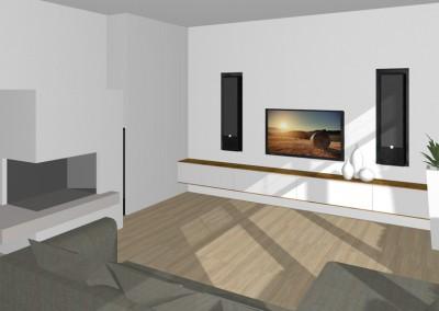 Wohnzimmer in Linz