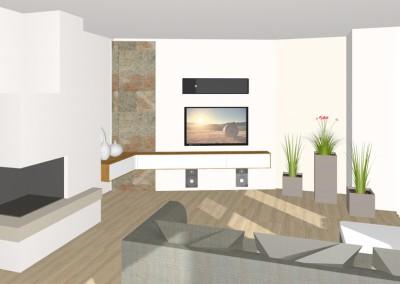 Wohnzimmer in Bad Schallerbach