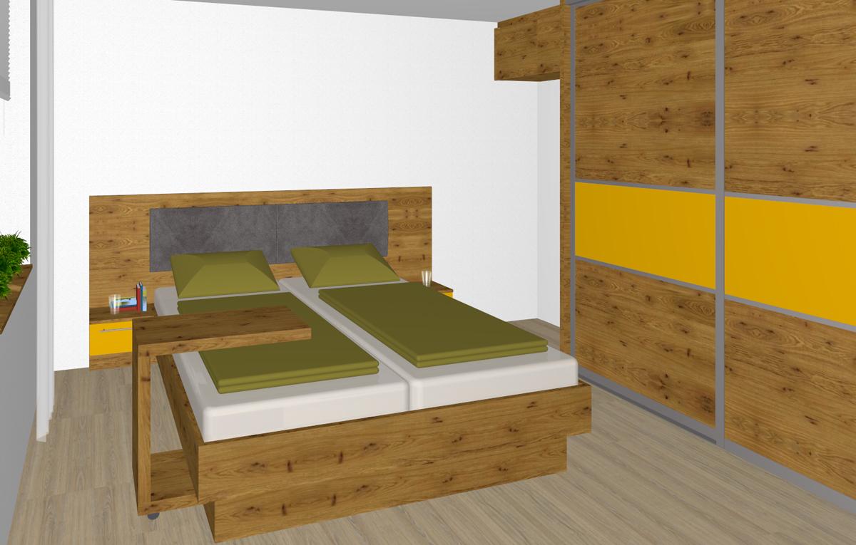 Schlafzimmer in Pasching