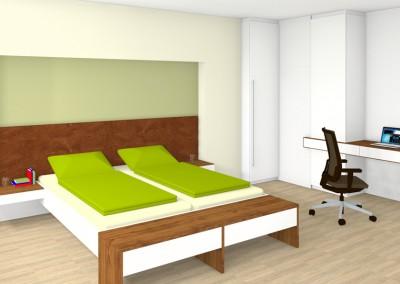 Schlafzimmer Linz