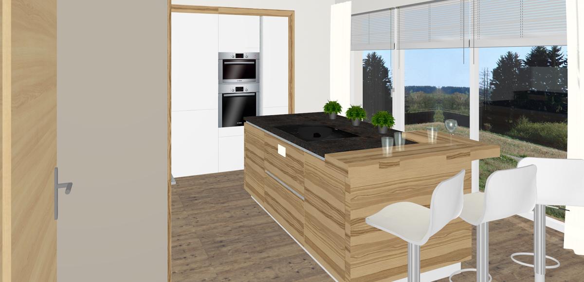 Küche Mit Integrierter Speis   Tischlerei Kastner Tischlerei Aus Munzbach Perg