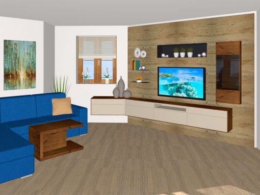 Wohnzimmer in Perg