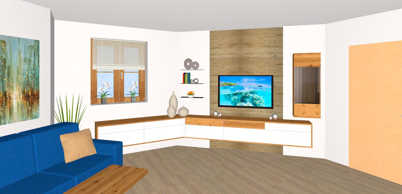 Wohnzimmer in Perg | Tischlerei Kastner