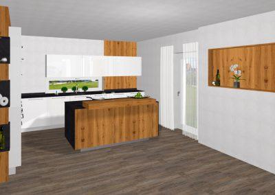 Offene Wohnraumküche in Sonnberg im Mühlkreis