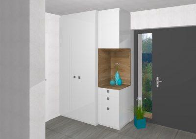 Moderner Vorraum in Unterweißenbach