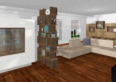 Modernes Wohn-Esszimmer in Ried in der Riemark