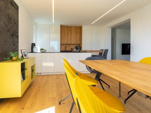 Küche und Esszimmer in Windhaag
